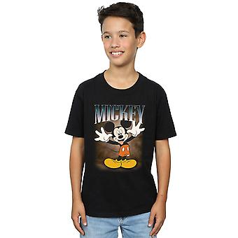 Disney jungen Mickey Mouse Zunge Montage T-Shirt