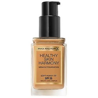 Max Factor sund hud harmoni Foundation #77-Soft honning (Make-up, ansigt, baser)
