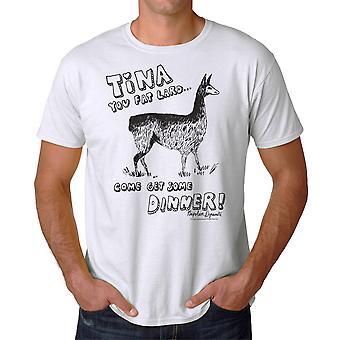 Napoleon Dynamite Tina Men's White Funny T-shirt