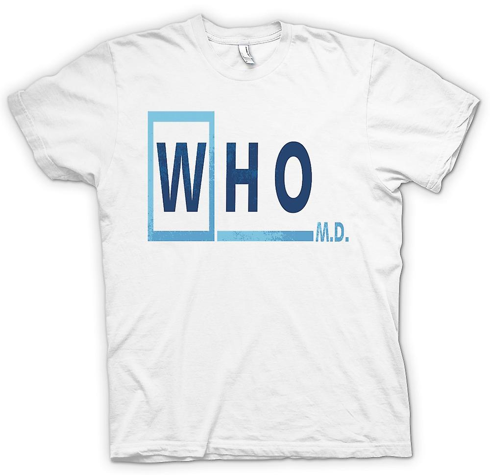 Mens T-shirt - Who M D