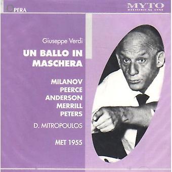 Verdi / Mitropolous - Un Ballo in Maschera: Mialnov [CD] USA import