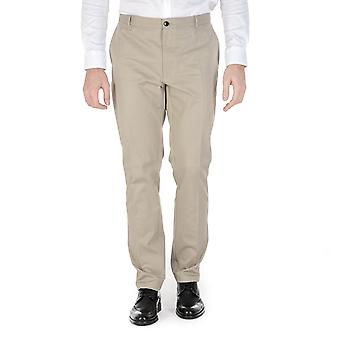 Hugo Boss Mens Pants Beige Heldor