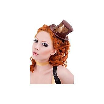 Madame Verne-Wells Mini Top Hat