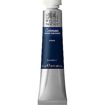 Winsor & Newton Cotman Watercolour 21ml Tubes - Indigo 322