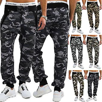 Mens Jogging Pants with camouflage pants training jogger leisure trousers