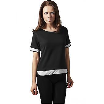 Urban classics ladies T-Shirt Terry mesh