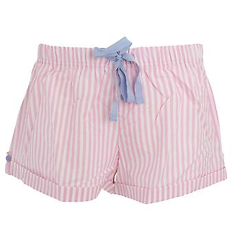Foxbury Womens/Ladies Yarn Dyed Stripe Shorts