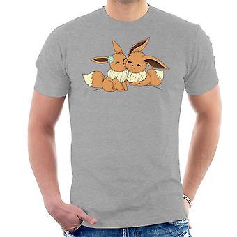 Eevee Love Pokemon Men's T-Shirt