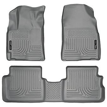 Husky Liners Front & 2nd Seat Floor Liners Fits 09-13 Corolla/Matrix FWD