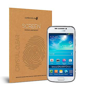 Celicious Vivid Invisible Glossy HD Screen Protector Film Compatible with Samsung Galaxy S4 Zoom [Pack of 2]