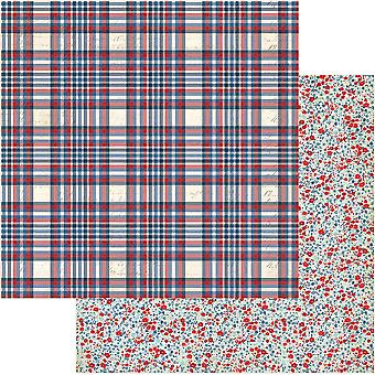 Red, White & Blue Double-Sided Cardstock 12