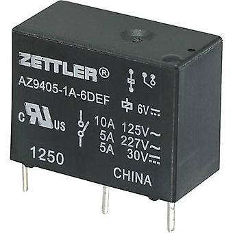 PCB relays 9 Vdc 10 A 1 maker Zettler Electronics