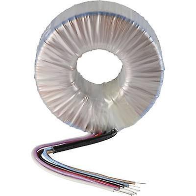 Transformateur à noyau torïdal 1 x 230 V 2 x 12 V AC 160 VA 6,67 A 858 258 Sedlbauer
