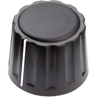 Mentor 4332.6001 Control knob + hand Black (Ø x H) 20 mm x 15 mm 1 pc(s)