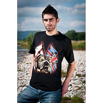 Union Jack Wear Union Jack St George Bulldog T Shirt