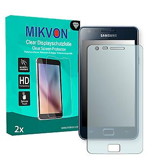 Samsung I9105 Galaxy S2 Plus Screen Protector - Mikvon Clear (Retail Package with accessories)