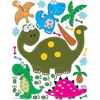 Dinosaurussen zelfklevende decoratie kinderkamer