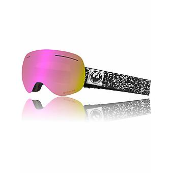 Dragon Scribe-Pink ioniseret 2018 X1 Snowboarding Goggles
