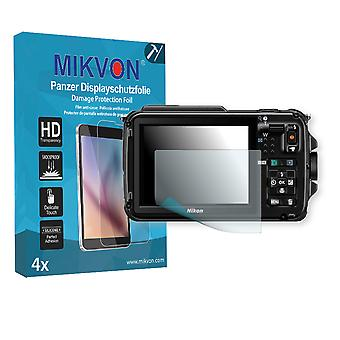 Nikon COOLPIX AW110s Screen Protector - Mikvon Armor Screen Protector (Retail Package with accessories)