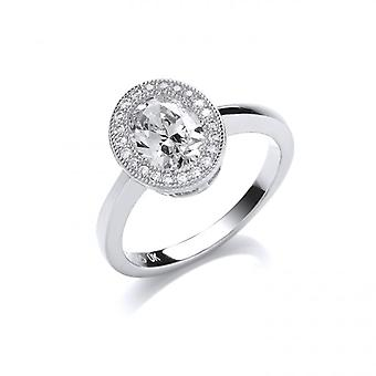Cavendish French Oval Elegance Ring