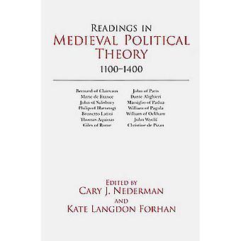 Lecturas en la teoría política Medieval - 1100-1400 por Cary J. Nederman