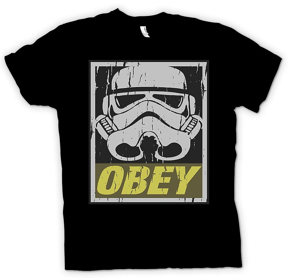 Kinder T-shirt - Stormtrooper - gehorchen - Star Wars inspiriert