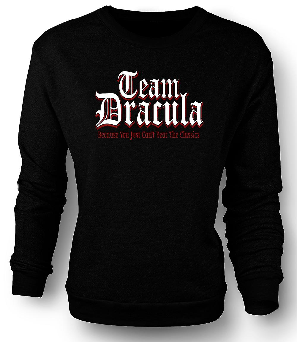 Mens Sweatshirt Team Dracula - Funny