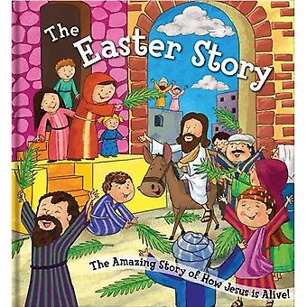 Square Cased Bible Story Book - The Easter Story (Square Cased Bible Stories)