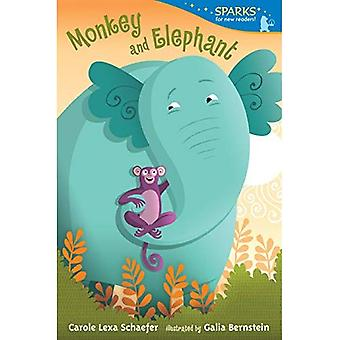 Mono y elefante
