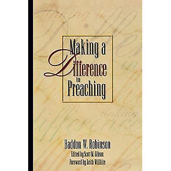 Faire une différence dans la prédication: Haddon Robinson sur la prédication biblique