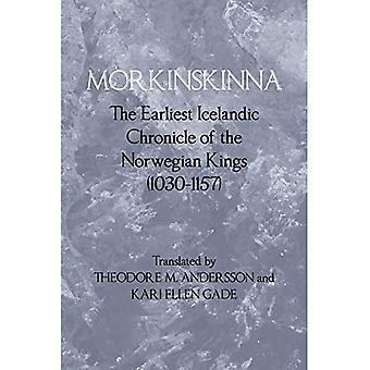 Morkinskinna: a mais antiga crônica Islandês dos reis nórdicos (1030-1157)