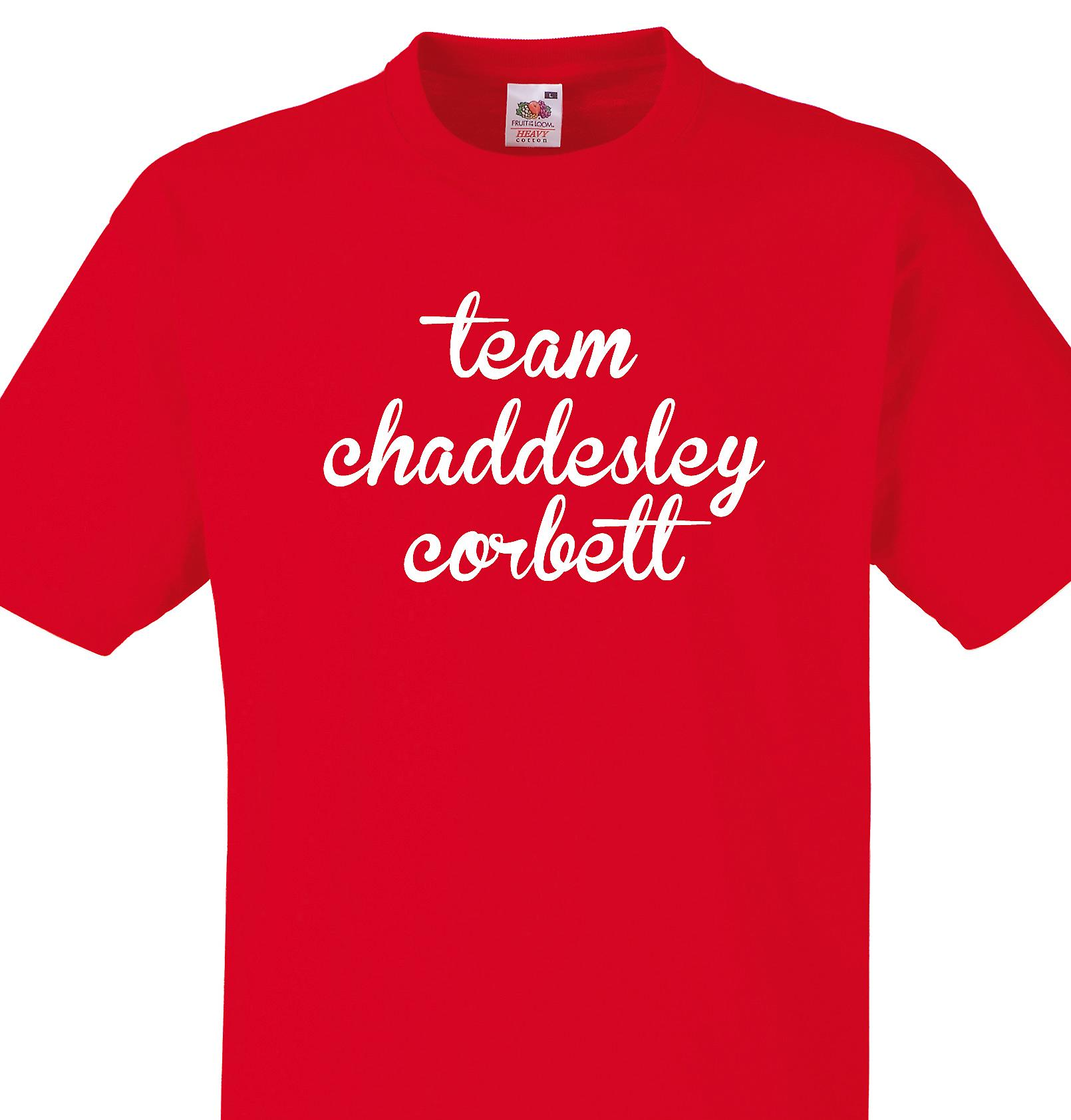Team Chaddesley corbett Red T shirt