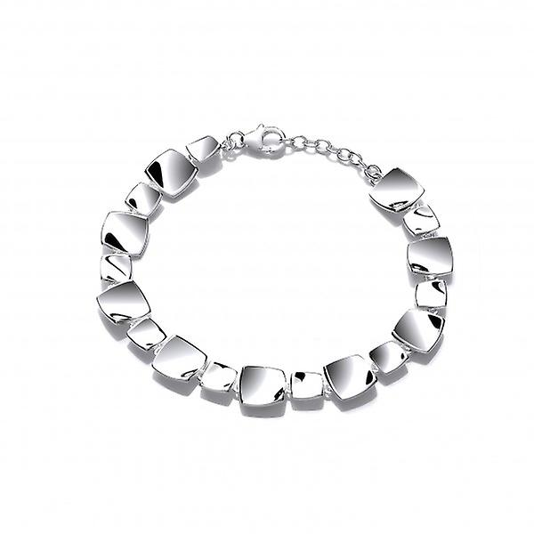 Cavendish French Square argent Vogue Bracelet