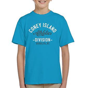 Coney Island Athletics Division Kid's T-Shirt