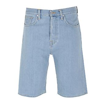 Edwin ED-45 Japan Cotton Blue Denim Shorts