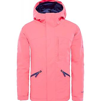 North Face Girls Lenardo Jacket - Rocked Red