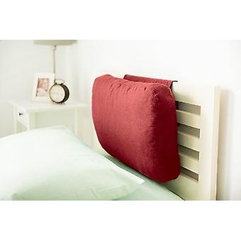 Weighted Foam Crumb Headboard Cushion Backrest - Wine