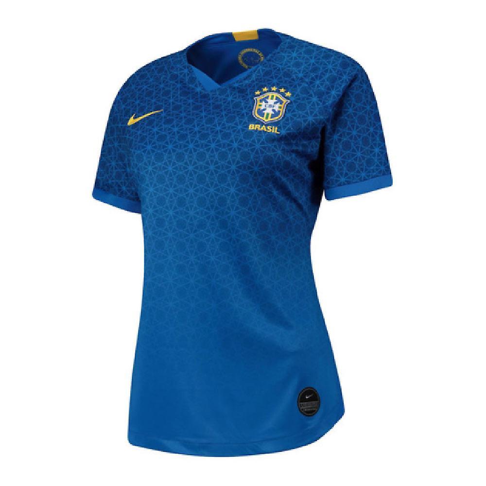2019-2020 Brazil Away Nike femmes Shirt