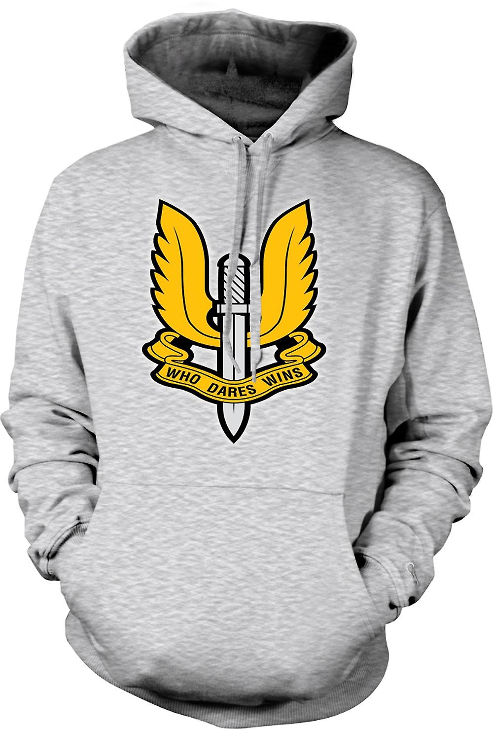 Mens Hoodie - SAS Special Forces Badge