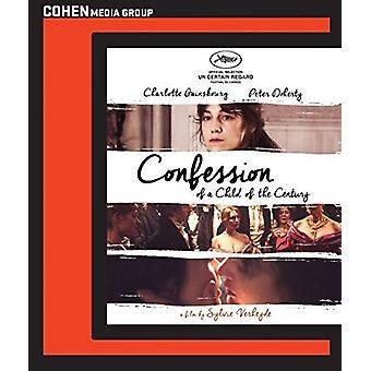 Confession of a Child of the Century [Blu-ray] USA import