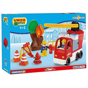 قطع زائد Unico Unico 43 شاحنة إطفاء (الرضع والأطفال، لعب الأطفال، والإنشاءات)