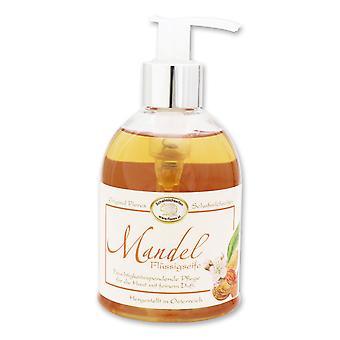 Florex Flüssigseife - Mandelöl - mit Schafmilch im Spender für weiche und geschmeidige Haut mit viel Feuchtigkeit 250 ml