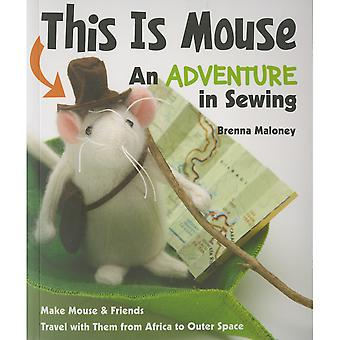 FunStitch Studio-This Is Mouse An Adventure In Sewing FSS-59776