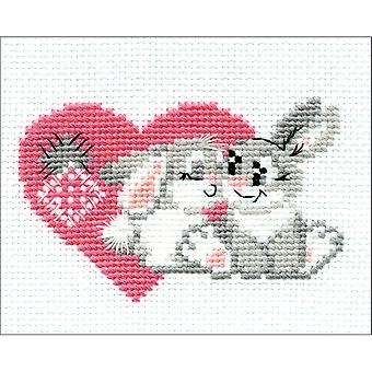 You Are My Sweetheart Counted Cross Stitch Kit-6.25