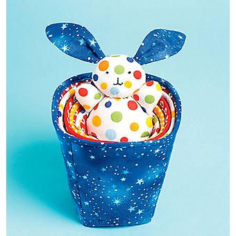 Stacking Cups And Bunny  One Size Only Pattern K0122