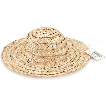 Round Top Straw Hat 14