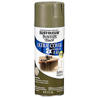 Painter's Touch Ultra Cover Satin Aerosol Paint 12 Ounces Oregano Ptucs249 069