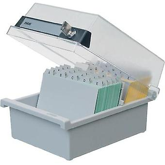 Han 966-S-631 A6 Lockable Index Card Box