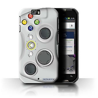 STUFF4 Case/Cover for Motorola IronRock/XT626/White Xbox 360/Games Console
