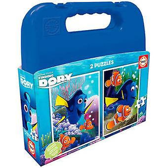 Educa Puzzle Finding Dory 2x48 Pieces (Toys , Boardgames , Puzzles)